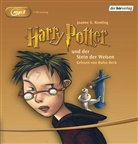 J. K. Rowling, Joanne K Rowling, Rufus Beck - Harry Potter, MP3-CDs - Tl.1: Harry Potter und der Stein der Weisen, Audio-CD, (Hörbuch)