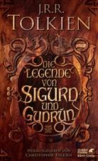 John R R Tolkien, John Ronald Reuel Tolkien, Christopher Tolkien - Die Legende von Sigurd und Gudrún