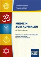 Neumaye, Petr Neumayer, Petra Neumayer, Stark, Roswitha Stark - Medizin zum Aufmalen, 64 Symbolkarten