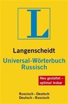 Collecitf, Redaktio Langenscheidt - Universal-Wörterbuch Russisch: Russisch-Deutsch un vv