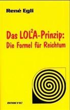 Rene Egli, René Egli - Das LOLA-Prinzip, Die Formel für Reichtum