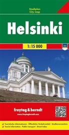 Freytag-Berndt und Artaria KG, Freytag-Bernd und Artaria KG - Freytag Berndt Stadtplan: Freytag & Berndt Stadtplan Helsinki. Helsingfors