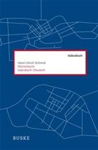 Hans U Schmid, Hans U. Schmid, Hans Ulrich Schmid - Wörterbuch Isländisch-Deutsch