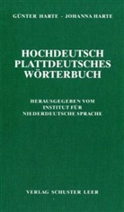 Günter Harte, Johanna Harte, Institut für Niederdeutsche Sprache - Hochdeutsch - plattdeutsches Wörterbuch