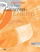 Hubert Käppel - 22 leichte Gitarren-Etüden, m. CD-Audio