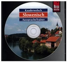 Alois Wiesler - Slowenisch AusspracheTrainer, 1 Audio-CD (Hörbuch)