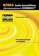 Alois Wiesler, Marij Miksche - NOREA Audio-Sprachführer Slowenisch, 1 Audio-CD (Hörbuch)