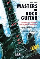 Peter Fischer - Masters of Rock Guitar, m. Audio-CD