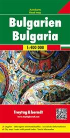 Freytag-Berndt und Artaria KG, Freytag-Bernd und Artaria KG - Freytag Berndt Autokarte: Freytag & Berndt Auto + Freizeitkarte Bulgarien. Bulgarije. Bulgaria. Bulgarie