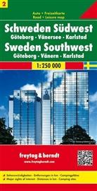 Freytag-Berndt und Artaria KG, Freytag-Bernd und Artaria KG - Freytag Berndt Autokarte: Freytag & Berndt Autokarte Schweden Südwest. Västra Svealand. Zweden Zuidwest