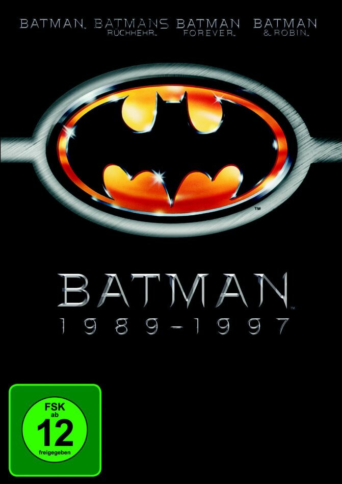 Batman 1989-1997 (4 DVDs)
