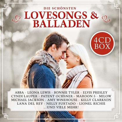 Die Schönsten Lovesongs & Balladen (4 CDs)