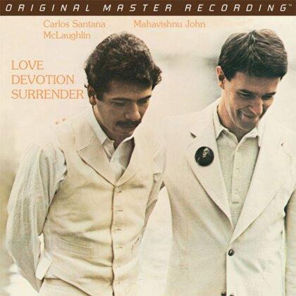 Carlos Santana & John McLaughlin - Love Devotion Surrender - Original Master Recording