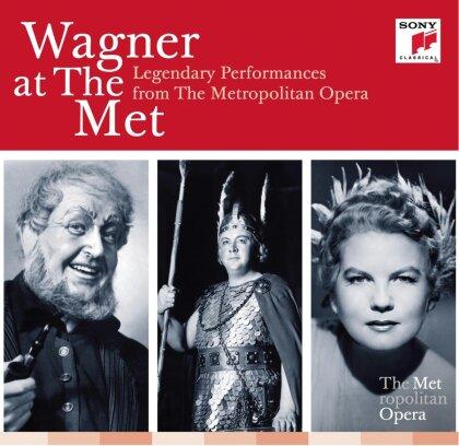 Richard Wagner (1813-1883) & Metropolitan Opera Orchestra - Wagner At The Met - Legendary Performances from the Metropolitan Opera (25 CDs)