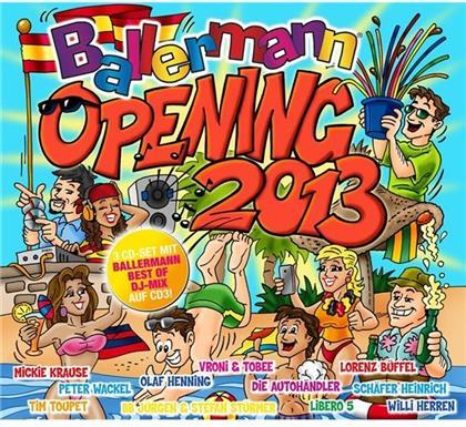 Ballermann Opening 2013 (3 CDs)