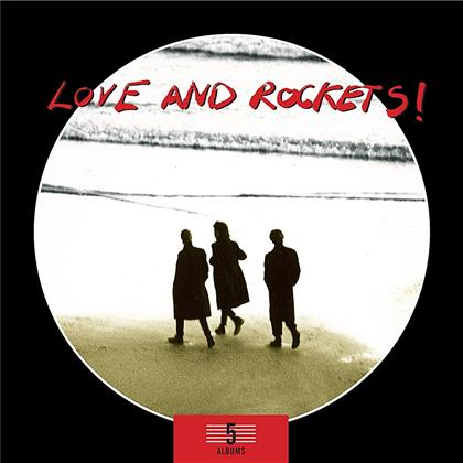 Love & Rockets - 5 Albums Box Set (5 CDs)