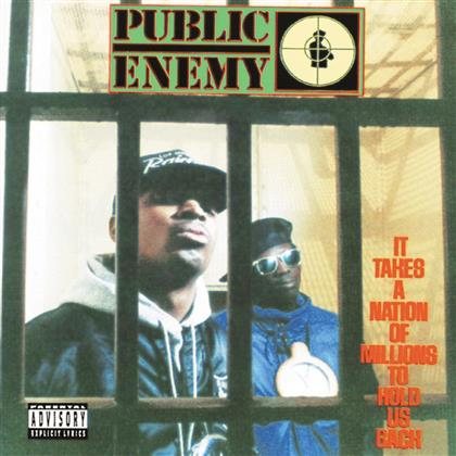 Public Enemy - It Takes A Nation Of Millions To Hold Us Back - Enhanced CD / 2 Bonus-Videos (Remastered)