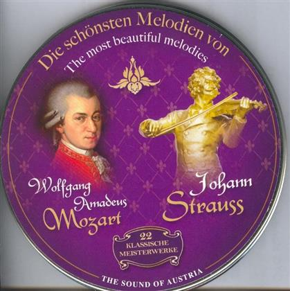 Diverse Interpreten, Wolfgang Amadeus Mozart (1756-1791) & Johann Strauss - Wolfgang Amadeus Mozart - Johann Strauss
