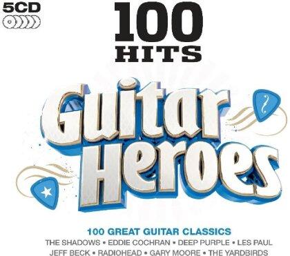 100 Hits - Guitar Heroes (5 CDs)
