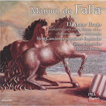 Victoria De Los Angeles, Maria De Gabarain & Manuel de Falla (1876-1946) - El Amor Brujo, Concierto, Siete Canciones Populare