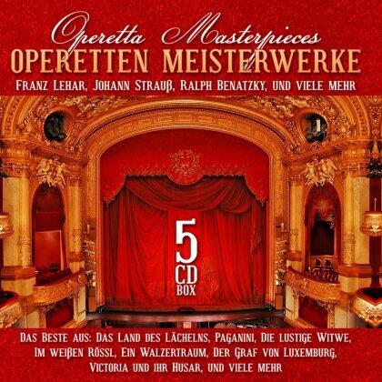 Franz Lehar (1870-1948), Ralph Benatzky & Richard Strauss (1864-1949) - Operetten Meisterwerke - Operetta Masterpieces (5 CDs)