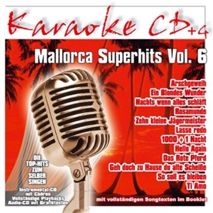 Karaoke - Mallorca Superhits 6