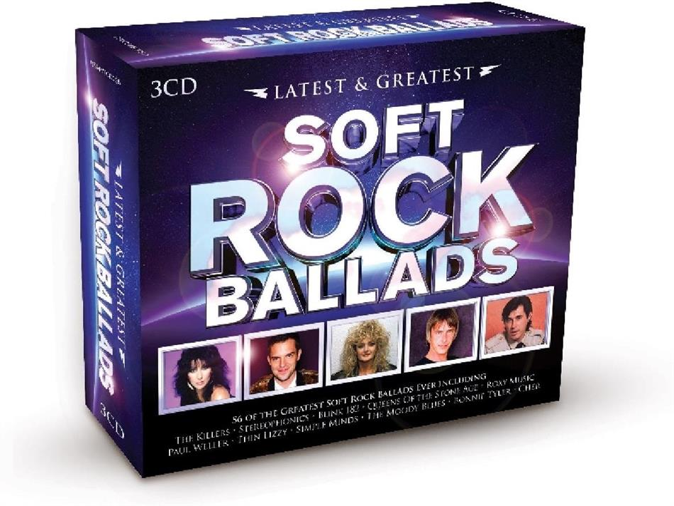 Latest & Greatest - Various - Soft Rock Ballads (3 CDs)