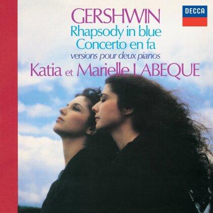 Labeque Katia & Marielle & George Gershwin (1898-1937) - Rhapsody In Blue/Piano Concerto In F Major