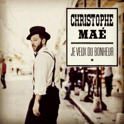 Christophe Mae - Je Veux Du Bonheur (CD + DVD)