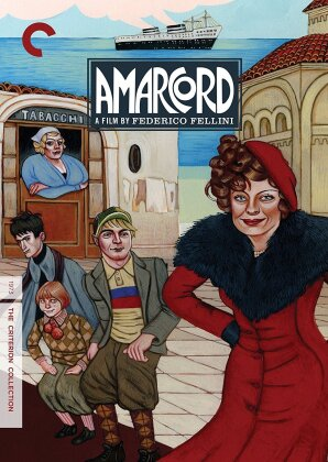Amarcord (1973) (Criterion Collection, 2 DVDs)