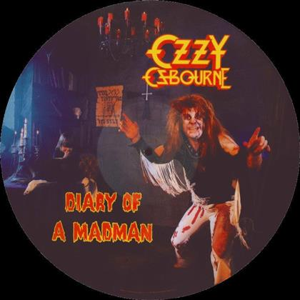 Ozzy Osbourne - Diary Of A Madman - Picture Disc (Remastered, LP)