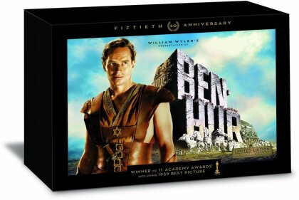 Ben-Hur (1959) (with Book, 50th Anniversary Edition, Ultimate Collector's Edition, Limited Edition, 5 DVDs)