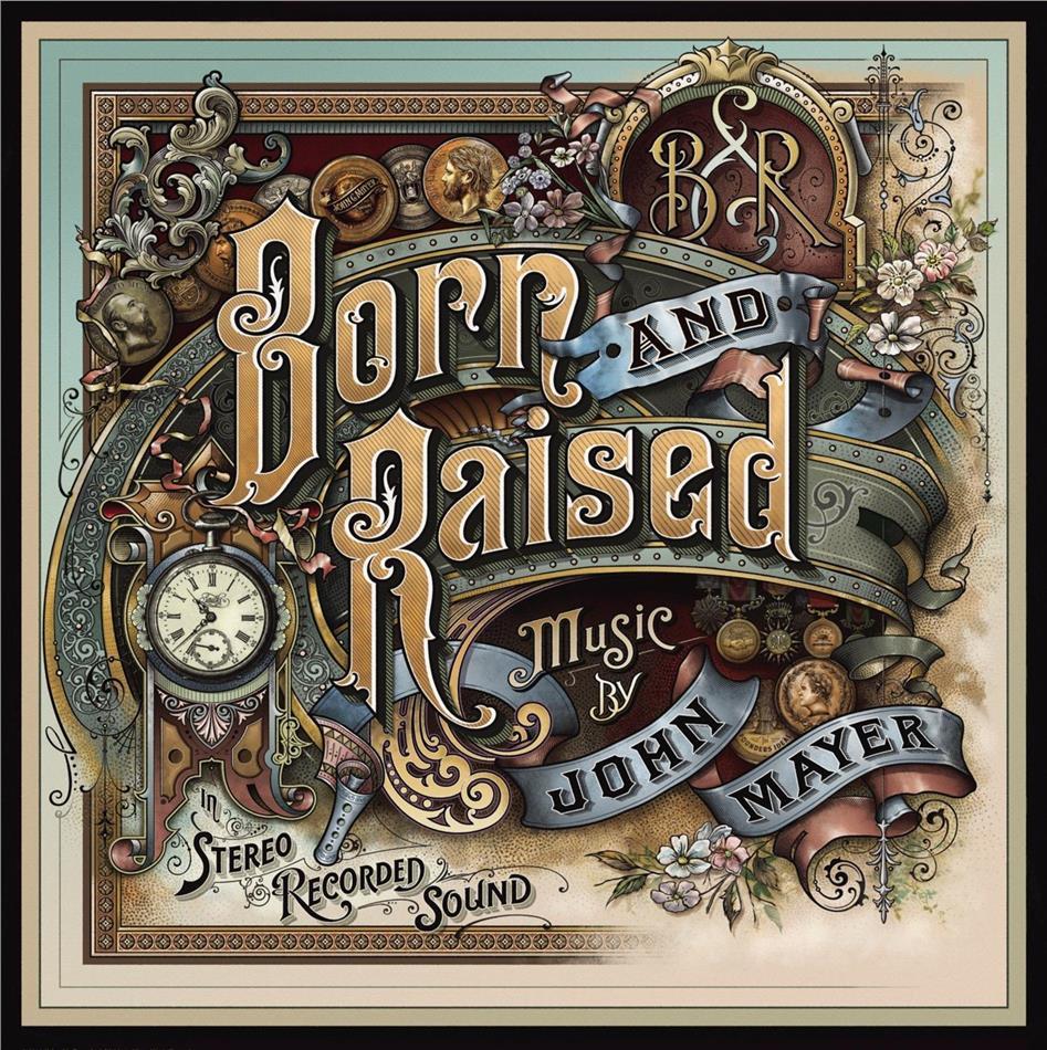 John Mayer - Born & Raised (2 LPs + CD)
