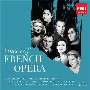Joyce DiDonato, Roberto Alagna, Gens, Nicolai Gedda, +, … - Voices Of French Opera (5 CDs)