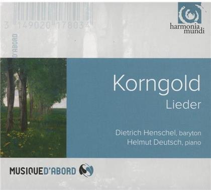 Erich Wolfgang Korngold (1897-1957), Dietrich Henschel & Helmut Deutsch - Lieder