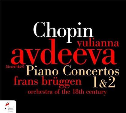 Frédéric Chopin (1810-1849) & Yulianna Avdeeva - Klavierkonzerte Op11 & Op21 - Pno Erard 1849