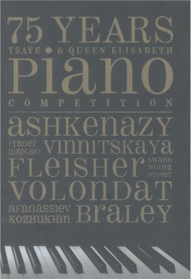 Vladimir Ashkenazy, Anna Vinnitskaya, Leon Fleisher & Frank Braley - 75 Years Ysaye & Queen Elizabeth Piano Competition (5 CDs)