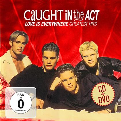 Caught In The Act - Love Is Everywhere-Greatest (2 CDs + DVD)