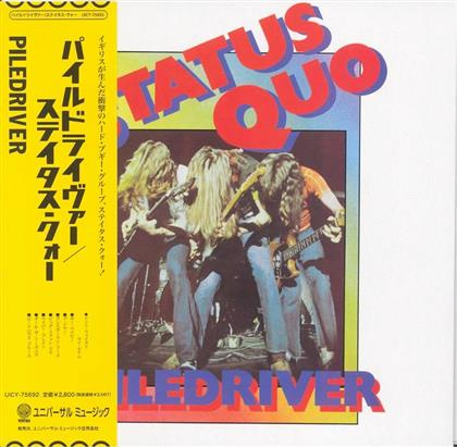 Status Quo - Piledriver - Papersleeve (Japan Edition)