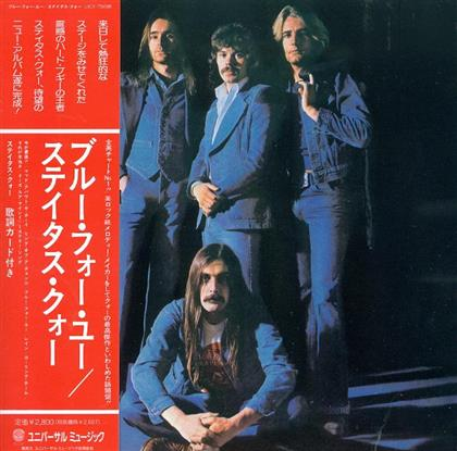 Status Quo - Blue For You - Papersleeve & Bonus (Japan Edition)