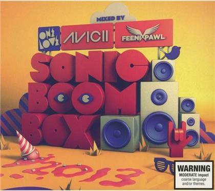 Sonic Boom Box 2013 - Various - Presented By Avicii & Feenixpawl (2 CDs)
