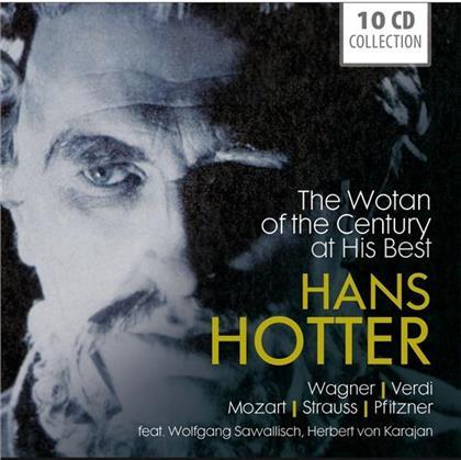Richard Wagner (1813-1883), Giuseppe Verdi (1813-1901), Wolfgang Amadeus Mozart (1756-1791), Richard Strauss (1864-1949), Hans Erich Pfitzner (1869-1949), … - The Wotan Of The Century At His Best (10 CDs)