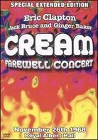 Cream - Farewell Concert of Cream (Extended Edition)