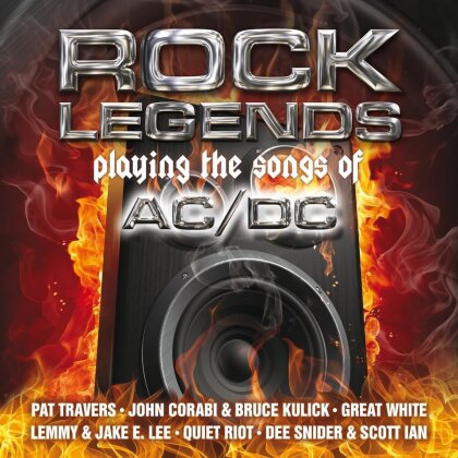 Tribute To AC/DC - Rock Legends Playing (2 LPs)
