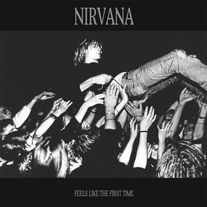 Nirvana - Feels Like The First Time - Let Them Eat Vinyl - Transparent Blue Vinyl (Colored, 2 LPs)