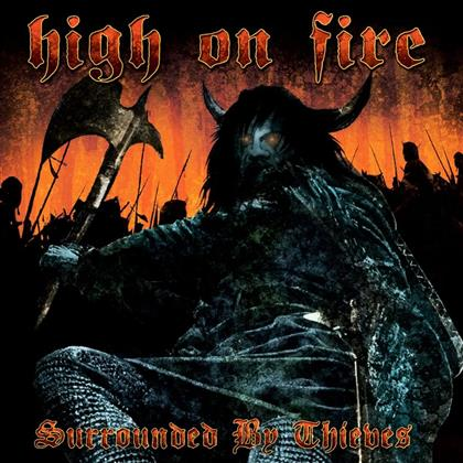 High On Fire - Surrounded By Thieves (Blue Splatter Vinyl, 2 LPs)