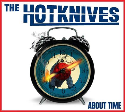 Hotknives - About Time (Red Vinyl, LP)