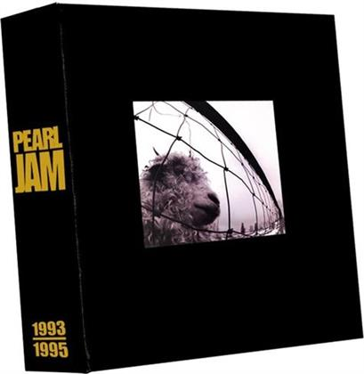 Pearl Jam - Vs. & Vitalogy - + MC (5 LPs + 3 CDs + Book)