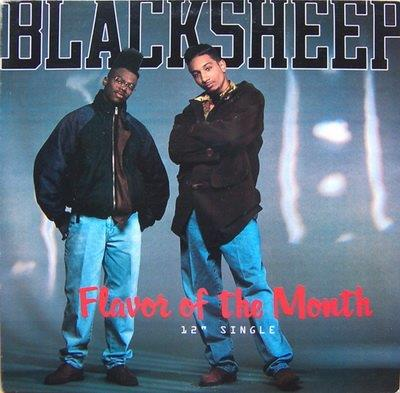 """Black Sheep - Flavor Of The Month (12"""" Maxi)"""