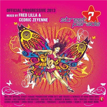 Streetparade 2013 - Progressive - Mixed By Fred Lilla & Cedric Zeyenne